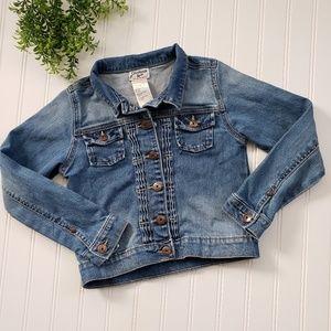 Osh Kosh Denim Jean Jacket Medium Wash size 7